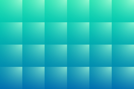 Blue abstract background with square pattern, 3D vector illustration. Çizim