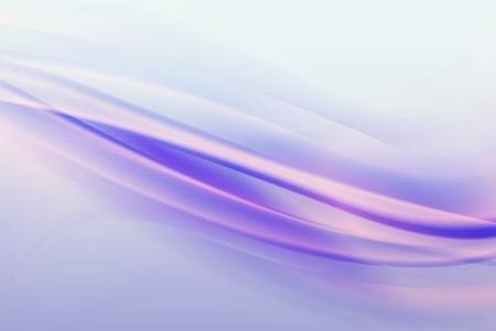 Abstract purple background, elegant soft waves. Ilustrace