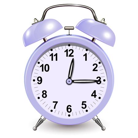 Alarm clock icon, vector 3D design Çizim