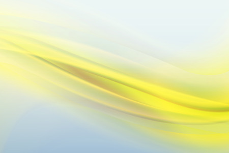 Abstract yellow background, elegant soft waves.