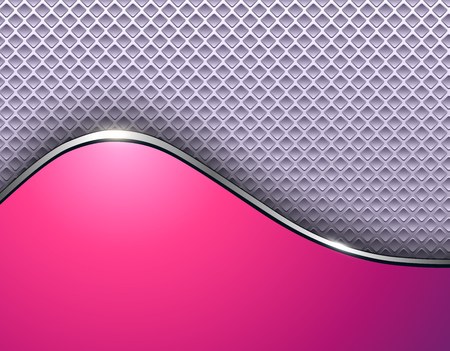 Abstract business background, elegant silver pink vector illustration.