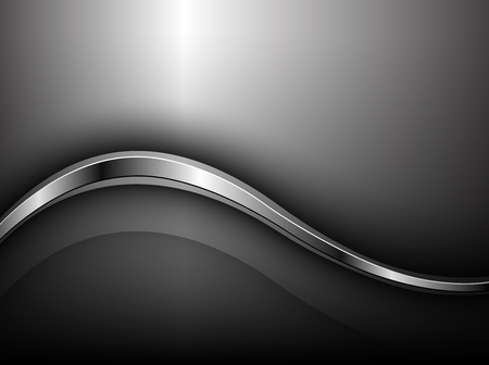 Abstract business background silver grey, vector illustration.