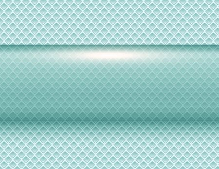 Abstract  background green 3d shiny vector illustration.