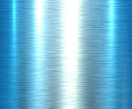 Metal blue texture background, brushed metallic texture plate.