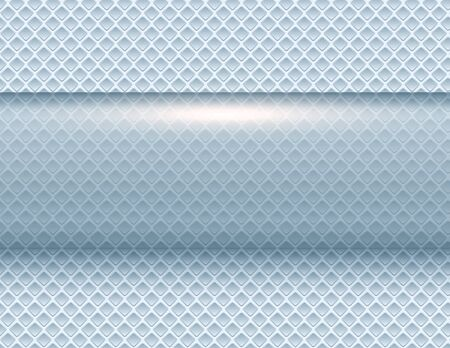 Abstract  background silver 3d shiny blue metallic, vector illustration.