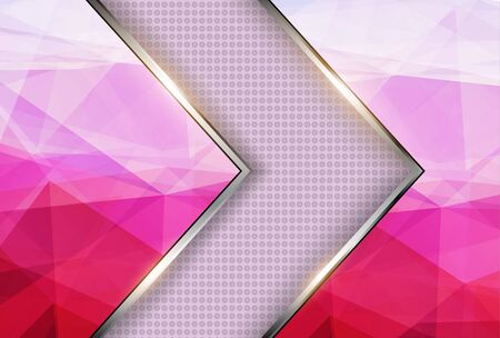 Abstract background pink texture triangle pattern.