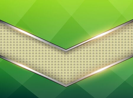Abstract  background with green pattern, vector illustration.