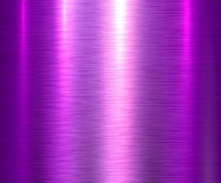 Metallpurpurner Beschaffenheitshintergrund, gebürstete metallische Beschaffenheitsplatte.