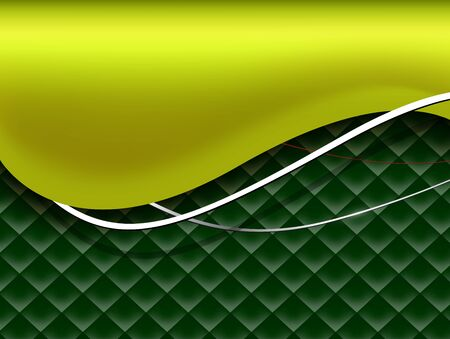Abstract business background green vector design.