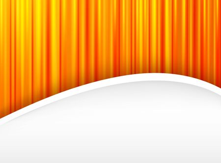 Abstract backround orange, 3d with striped pattern