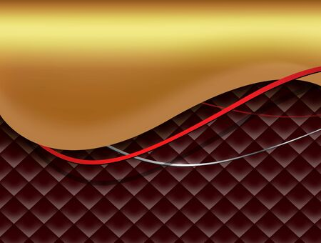 Abstract business background  red and gold vector design.