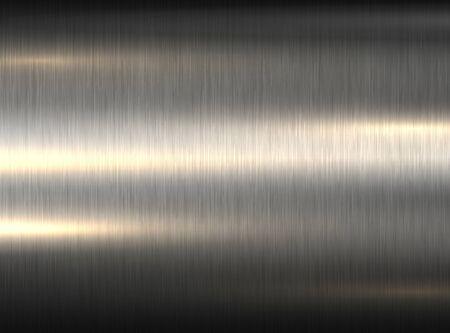 Polished metallic steel texture, vector brushed metal texture Illusztráció