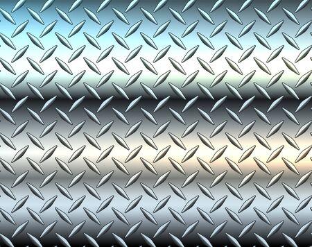Stainless steel texture metallic, diamond metal sheet texture background vector illustration.