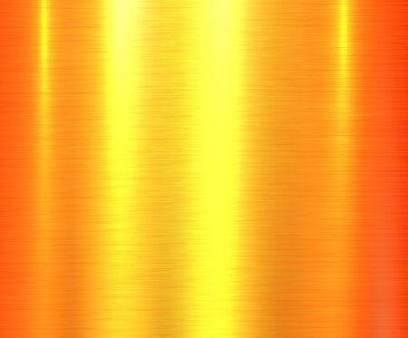 Metal orange texture background, brushed metallic texture plate.