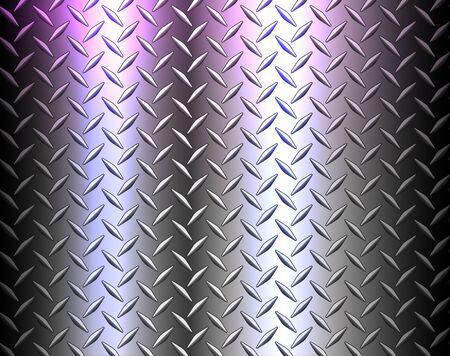 Stainless steel texture metallic, diamond metal sheet texture background vector illustration. 向量圖像