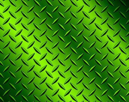 The diamond steel metal sheet texture background, metallic green shiny vector illustration. Illusztráció