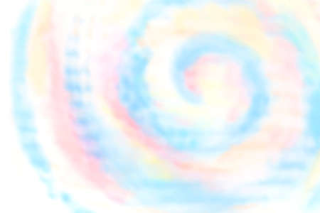 Soft pastel colorful aquarelle on white background, abstract watercolor gradient ink stain splatters, vector illustration.