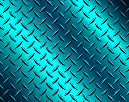 The diamond steel metal sheet texture background, metallic green blue shiny vector illustration. Illusztráció