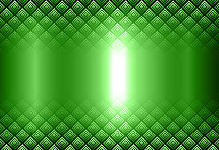 Metallic background 3D, silver green with interesting transparent pattern, vector illustration. 向量圖像
