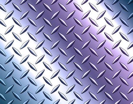 Background silver metallic, 3d chrome vector design with diamond plate sheet metal texture with opalescence pearl color, vector illustration.