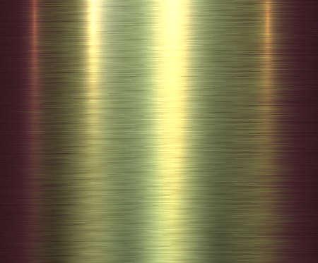 Metal gold texture background, golden brushed metallic texture plate. Vecteurs