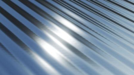 Silver chrome metal texture with waves, liquid silver metallic silk wavy design, 3D render illustration.