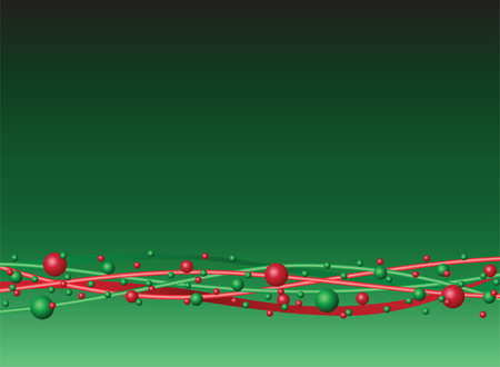 Red and Green Background Design Vector