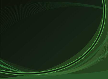 Green Background Design Illustration