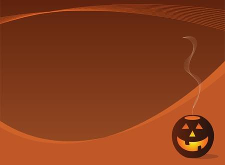 Jack O Lantern Halloween Background Design