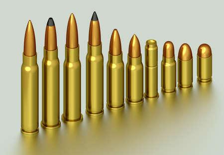 3d bullet: 3D rendering of the bullet