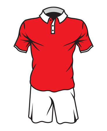 jersey: Football soccer jersey Illustration