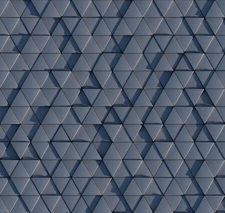 prisma: Patr�n de prisma triangular 3D sin fisuras