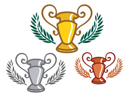 goblet: Vector illustrations of the goblet