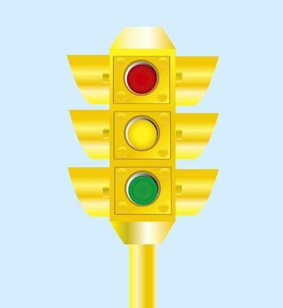 黄色の信号