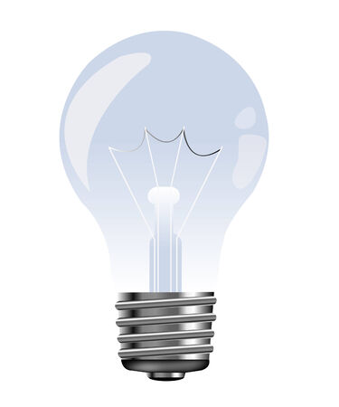 socle: Light bulb electric from glass