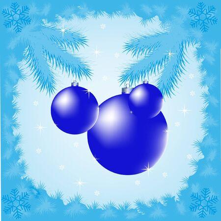 asterisks: The Festive winter background.New year Illustration