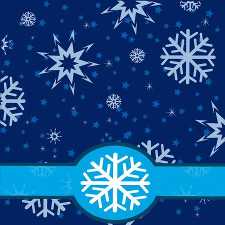 asterisks: Illustration of the winter background from snowflake