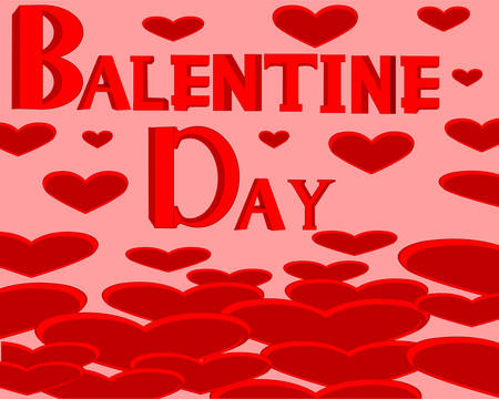 briliance: Holiday love  Valentines Day on background heart