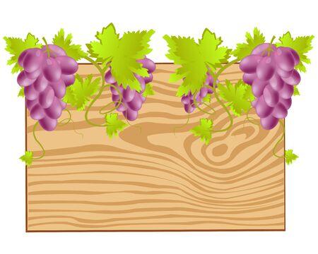 twining: Board twining grape