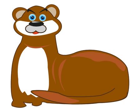 Water animal otter