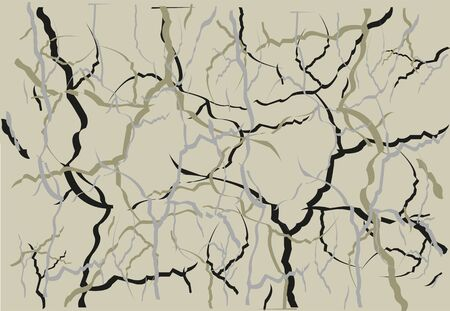 Abstract background from line Illustration
