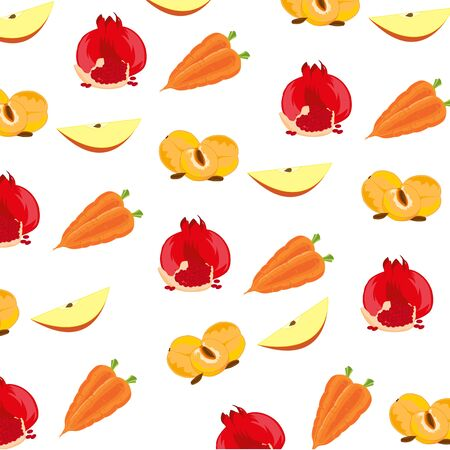 Background from fruit Фото со стока