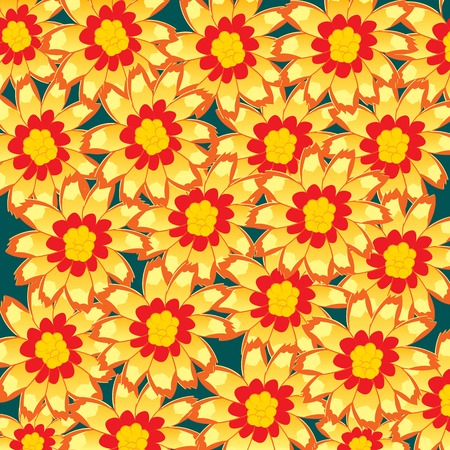 Bright and colorful background from ensemble flower