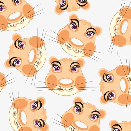 Mug animal hamster