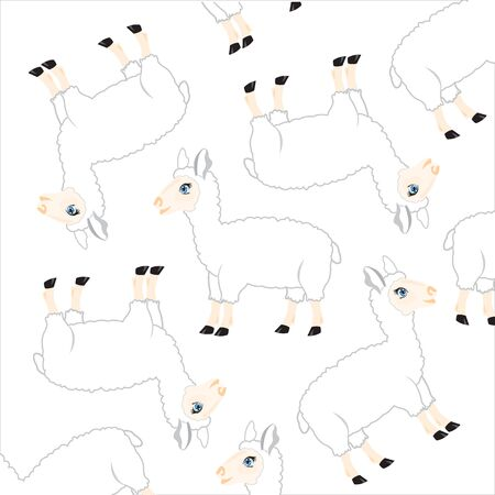 Sheep pattern.