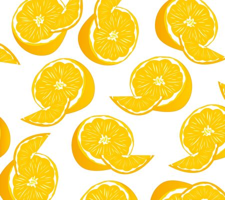 Fruit tangerine pattern.