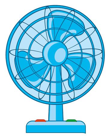 Room ventilator vector illustration Illustration