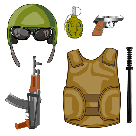 Equipment and weapon military