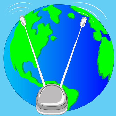 Antenna and planet land