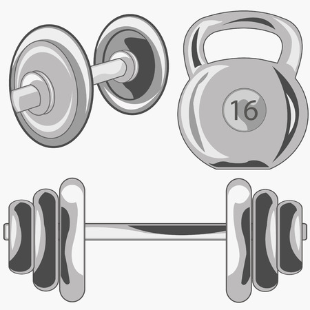 Weight and dumbbell